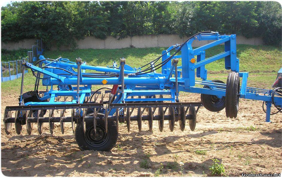 Лущильник дисковый гидрофицированный ЛДГ-5М предназначен для разрыхления необработанной уплотняющей почвы разного...